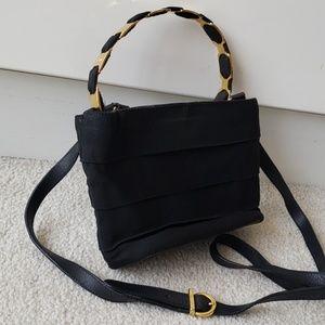 Ferragamo black shoulder crossbody hand bag